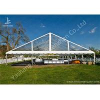 Wholesale Clear PVC Fabric Top Aluminum Alloy Outdoor Luxury Wedding Tents from china suppliers
