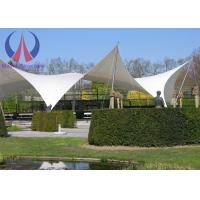 Wholesale Anti - Hurricane PVC Tensile Membrane Roofing Temporary Building Structures Environmental from china suppliers
