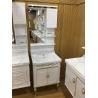 Buy cheap Luxury Wall PVC Bathroom Cabinet / Single Bowl Bathroom Vanities 60cm from wholesalers