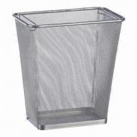 Wholesale Mesh Trash Can, Suitable for Kitchens, Offices, Living Rooms, Bathrooms, Various Designs Available from china suppliers