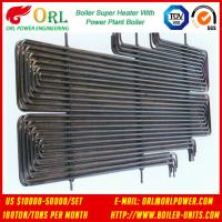 80MW Petroleum Industry CFB Boiler Superheater OEM TUV Superheater In Boiler