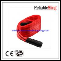 Wholesale 150MM 5T Flat Polyester Web Sling for Lifting , En 1492-1 duplex web sling from china suppliers