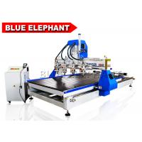 Wholesale 1325 Multi Spindles Multifunction Automtaic 3D Wood Carving Machine Cnc Router 5D with 4 Rotary Devices from china suppliers
