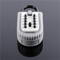 Wholesale Heavy Duty Push Button Key Lock Box , Portable Key Safe Padlock 10 Digit from china suppliers