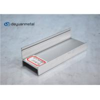 Wholesale Sand Blasting Silver Anodized Aluminium Profile Standard Aluminum Extruder For Window from china suppliers