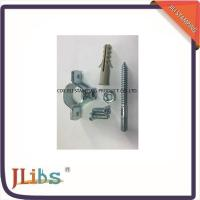 CNC Lathes Grinding / Milling Steel Pipe Clamps  Fitting With Blacking Polishing