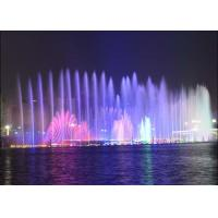 Wholesale Customized City Landscape Outdoor Rock Water Fountains With Beautiful Lights from china suppliers