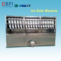 Wholesale Stainless Steel 304 Material 2 Tons Ice Cube Making Machine for Selling Cube Ice Business in Saudi Arabia from china suppliers