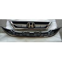 Wholesale 2pcs Set Front Grille + Bumper Grille ABS Chromed for Honda CRV CR-V 2010-2011 71121-SWA-J31 71123-SWA-J31 from china suppliers