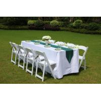 Buy cheap classic america wedding furniture party plastic resin folding chair from China factory from wholesalers