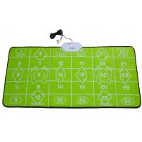 Wholesale 32 Bit TV PC USB Game Interactive Dance Mat Green For 2 Players from china suppliers