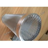 Wholesale OEM Ss304 / Ss304L Stainless Steel Wire Mesh Filter Spiral Welded Perforated Metal Tube from china suppliers