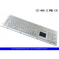Wholesale Customizable Industrial Keyboard With Touchpad Stainless Steel With High Vandal-Proof from china suppliers