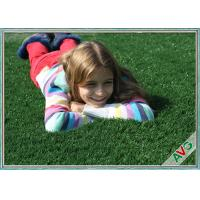 Wholesale UV Resistant Plastic Realistic Artificial Grass / Artificial Lawn Turf For School Kids from china suppliers