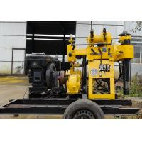 Wholesale ISO Water Drilling Rig , water well drilling equipment for deep water holes from china suppliers