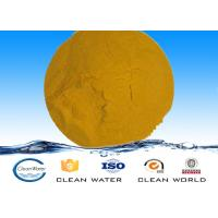 Wholesale Poly Ferric Sulphate Popular Water purification material Solid PFS yellow chemical from china suppliers