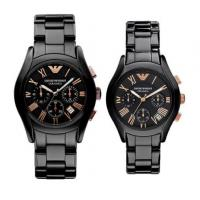 Wholesale Wholesale BRAND NEW GENUINE MENS  AR1410 AR1411 AR1400 AR1401CERAMIC BLACK & GOLD WATCH WITH BOX from china suppliers