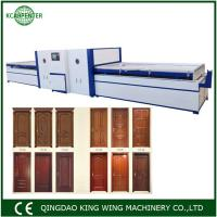 Wholesale High quality vacuum membrane press machine saving PVC film for kitchen cabinets from china suppliers
