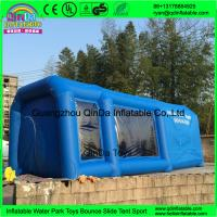 Wholesale QinDa inflatable paint booth,inflatable spray booth,inflatable car spray/paint tent for sale from china suppliers
