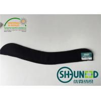 Quality Needle Punch Felt Fabric Sewing Sleeve Heads For Ladies Wear Black Color for sale