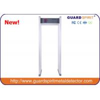 Wholesale 255 Steps Full Body Security Scanner / Walk Through Metal Detector With High Sensitivity from china suppliers