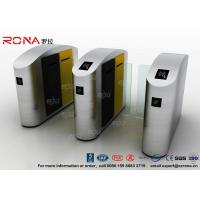 Wholesale IC / ID Identification Sliding Barrier Turnstiles Stainless Steel DC Servo Motor from china suppliers