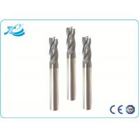 Wholesale 55 Hardness Roughing End Mill 6 mm Diameter Solid Carbide 14.3-14.8 G/cm3 from china suppliers