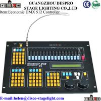 Wholesale Music Dance Hall DMX 512 Lighting Controller Stage Equipment AC 100V-240V 50-60Hz from china suppliers