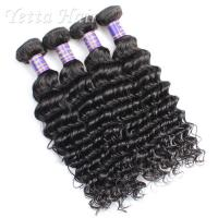 Wholesale Fashionable Deep Curly Cambodian Virgin Hair Weave 14 Inch - 16 Inch from china suppliers