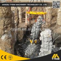 Wholesale Cutting diameter 1050mm concrete Hydraulic Pile Breaker machine KP315A excavator tooling round pile cutter from china suppliers