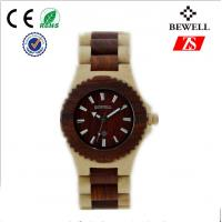 Wholesale Personalized Zebra Wood Watch For Boy With Original Japanese Battery from china suppliers