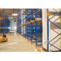 Wholesale Warehouse Racking Shelves Radio Shuttle Storage System Stable To 12 Meters High from china suppliers