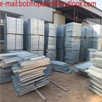 Buy cheap catwalk hot dipped galvanized steel grating/hot dipped galvanized steel grating used in industrial platform from wholesalers
