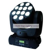 Wholesale 12x10W RGBW 4 in 1 LED Beam Moving Heads from china suppliers