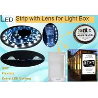 Buy cheap CE/ROHS listed 12V/24V led backlight strip SMD 3030 cuttable led light strip lens backlit from wholesalers