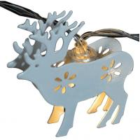 Wholesale Steel reindeer led christmas string from china suppliers