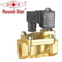 Wholesale Auto Brass Liquid Magnetic Latching Solenoid Self Holding Normally Closed Energy Saving from china suppliers