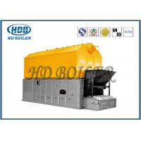 Wholesale Double Chain Coal Fired Hot Water Boiler , High Efficiency Steam Boiler SZL Type from china suppliers