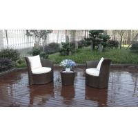 Wholesale Outdoor Garden Brown PE Rattan Obelisk Chair With Aluminum Frame from china suppliers