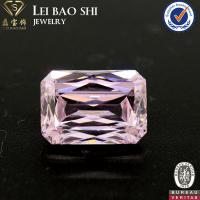 Wholesale 3A/5A Grade Light Pink Color Octagon Cut CZ Gemstone In Size 14*10mm With Low Price from china suppliers