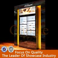 Wholesale Tempered glass eyeglasses display shelf from china suppliers