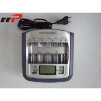 Wholesale Universal AA AAA Size Ni-CAD / Ni-MH battery charger With Digital Display from china suppliers