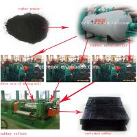 Quality Waste Tire Nylon Fiber Separating Machine/Used Tyre Recycling System for sale