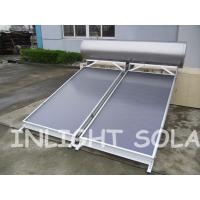 Quality Stainless Steel Integrated Flat Plate Solar Water Heater 300L Direct Plug Connection Type for sale