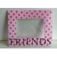 Wholesale Decorative 3D Wall Mounted Acrylic Photo Frames With Magnet And Screen Print from china suppliers