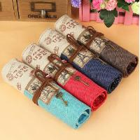 Wholesale Canvas Fabric pencil case from china suppliers