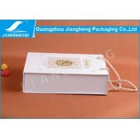 Wholesale Offset Printed Cardboard Paper Essential Oil Packaging Boxes With Handle from china suppliers
