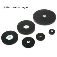 Buy cheap Hot sale dimension rubber coated strong permanent magnet factory from wholesalers