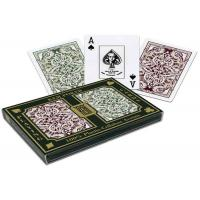 Wholesale 100% Plastic KEM Jacquard Marked Playing Cards 2 Decks Set For Poker Cheat from china suppliers
