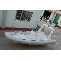 Quality Chemical Resistance Inflatable Rigid Hull Boats Dimensional Stability 22 Ft for sale